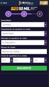 Wplay Registro