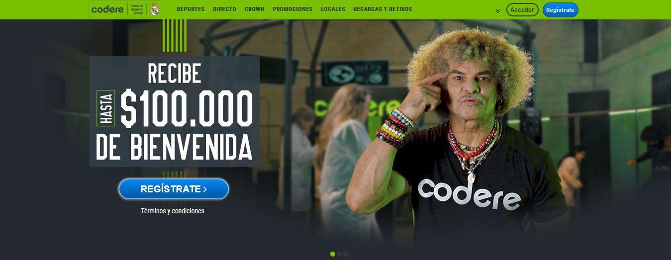 Codere Colombia bono