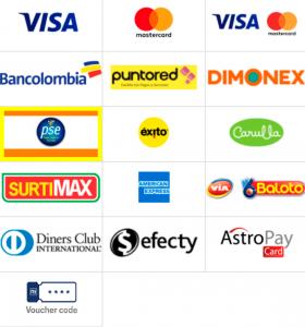 Rivalo app métodos de pago