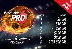 código promocional sportium pro6