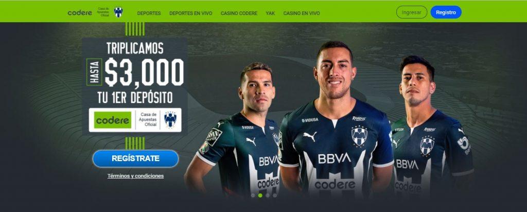 Código promocional México Codere