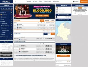 home page código promocional rivalo