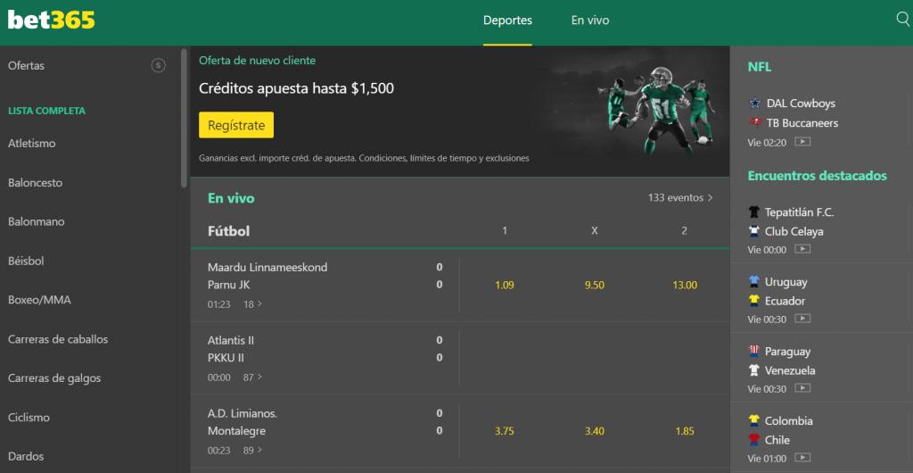 código bet365 mexico