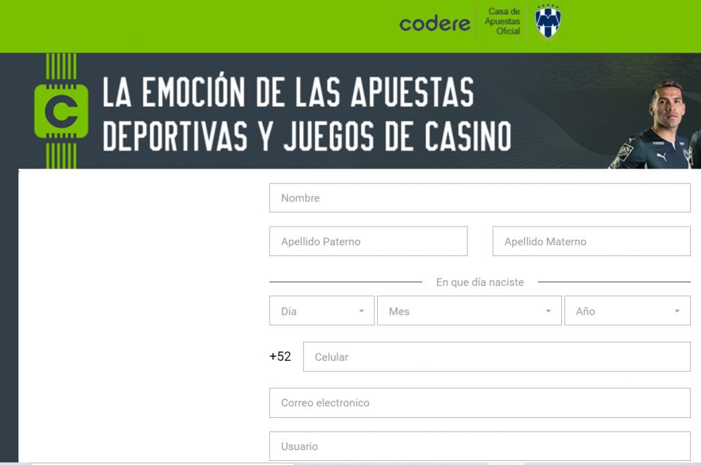 código promocional México