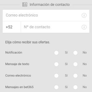 registrarse en bet365 mexico app