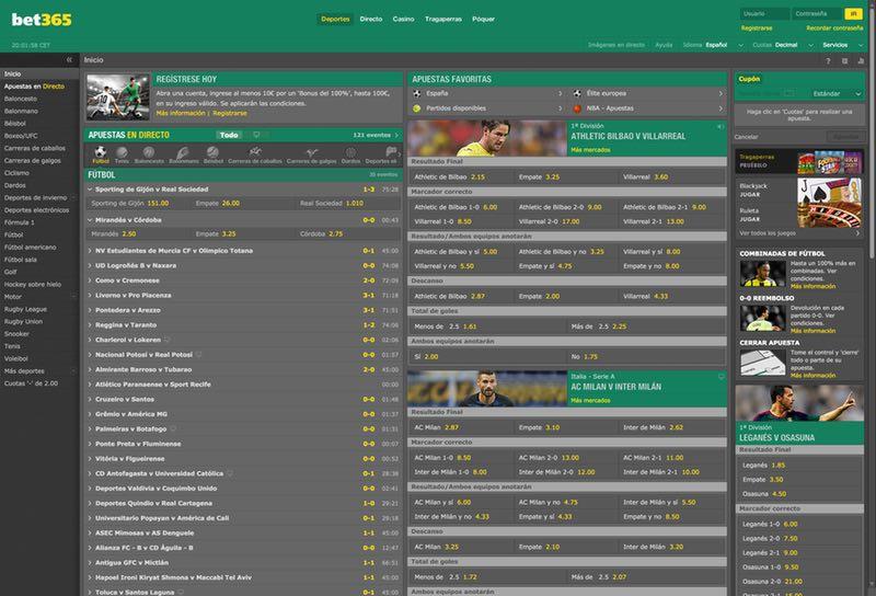 Bet365 - Opiniones y Reseña de Bet365.es