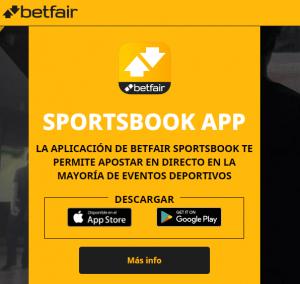 Betfair app ios